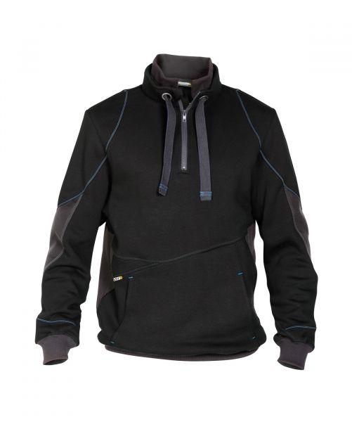 DASSY® Stellar Sweatshirt schwarz/anthrazitgrau