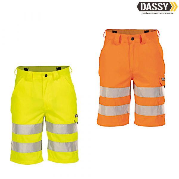 DASSY Idaho Warnschutz-Shorts EN ISO 20471 Klasse 2