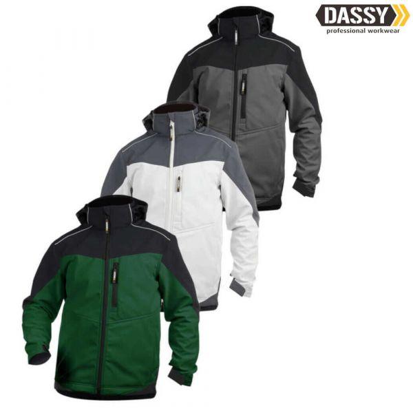 DASSY Jakarta Zweifarbige Softshell-Jacke Herren