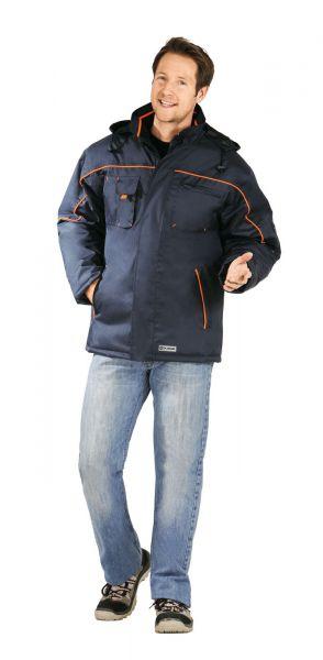 Planam Piper Jacke Outdoor marine/orange