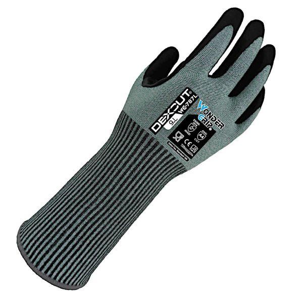 Wonder Grip 787L Schnittschutzhandschuhe mit Unterarmschutz Klasse D