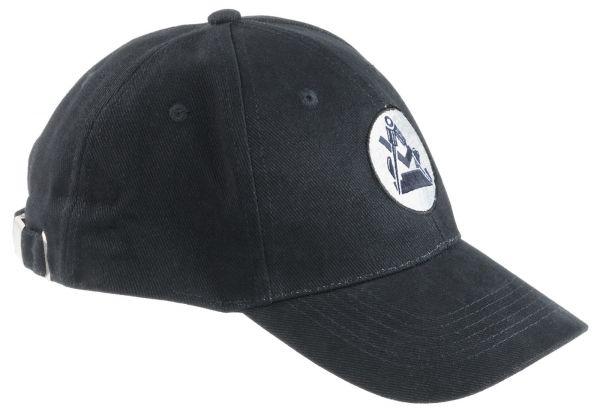 FHB NOAH Tischler-Cap uni schwarz