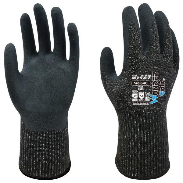 Schnittfeste Handschuhe Wonder Grip 640 Lite Cut 3 Schnittschutz Klasse C