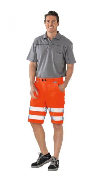 Planam Shorts Warnschutz uni uni orange