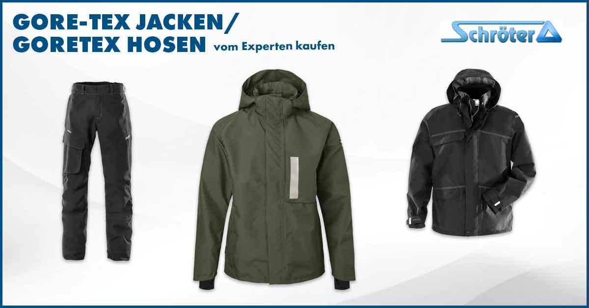 Gore-Tex Jacken - Goretex Hosen