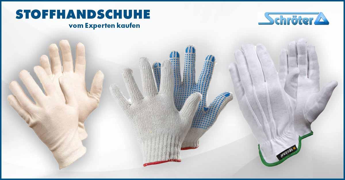 Stoffhandschuhe & Textilhandschuhe