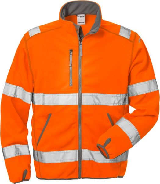 Fristads-Kansas High Vis Softshell-Jacke Kl. 3 4840 SSL Warnschutz-Orange